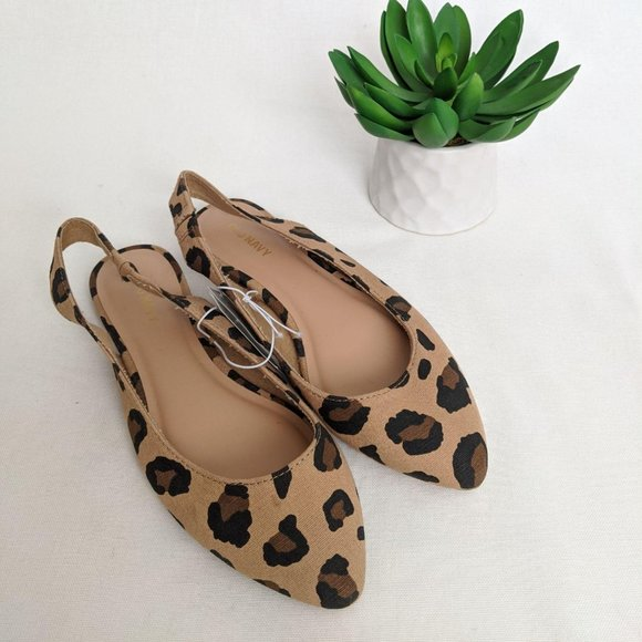 Old Navy Shoes   New Leopard Print